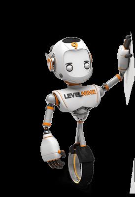 Mascote da Agência Levelnine